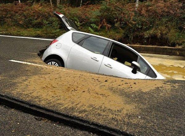 Непредвиденная ситуация на дороге
